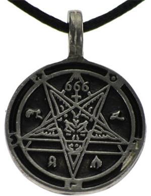 Goat Head / 666 Amulet