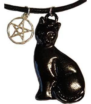Black Cat & Pentagram Talisman