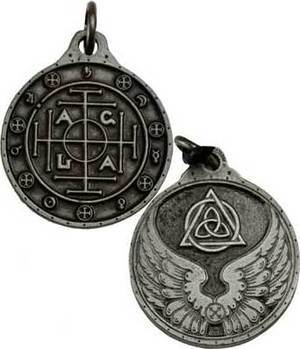 Silver Colored Blessing Talisman