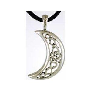Celestial Celtic Moon Amulet