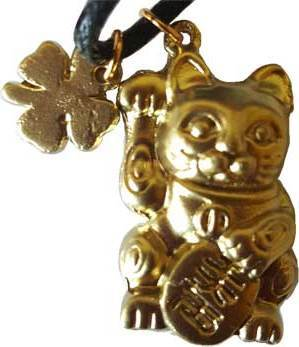 Chinese Money Cat Talisman