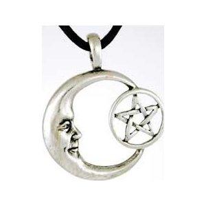 Pentacle Moon Amulet