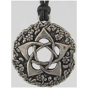 Garden Pentagram Amulet