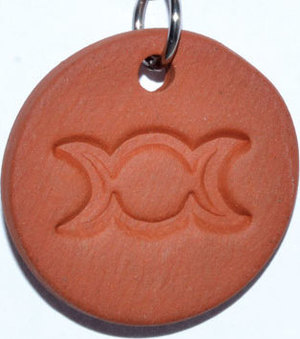 "1 1/4"" Goddess diffuser amulet"
