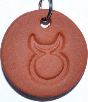 """1 1/4"""" Horned God diffuser amulet"""