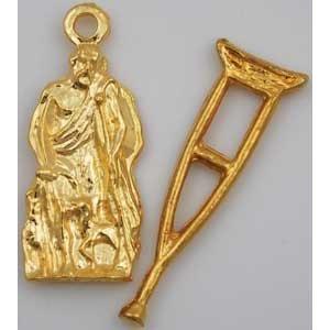 Saint Lazarus Amulet