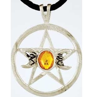 Triple Moon Pentagram Talisman