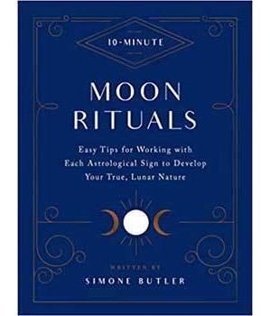 10 Minute Magic Moon Rituals (hc) by Simone Butler