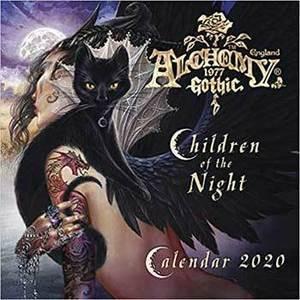 2020 Alchemy Gothic Calendar by Llewellyn