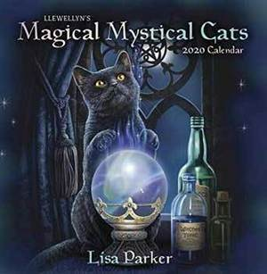 2020 Magical Mystical Cats Calendar by Llewellyn