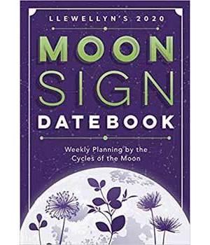 2020 Moon Sign Datebook by Llewellyn