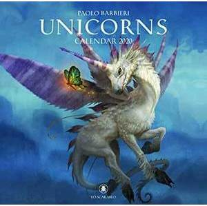 2020 Unicorns Calendar by Lo Scarabeo