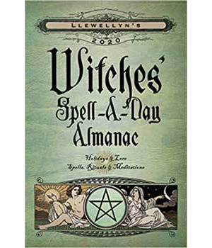 2020 Witches Spell A Day Almanac by Llewellyn