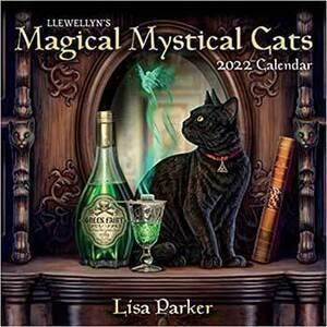 2022 Magical Mystical Cats Calendar by Llewellyn
