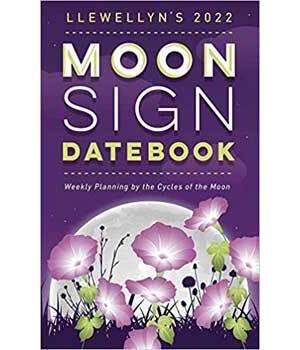 2022 Moon Sign Datebook by Llewellyn