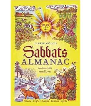 2022 Sabbats Almanac by Llewellyn