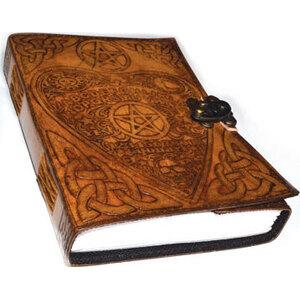 Ouija Board Planchette leather w/ latch
