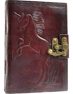 Unicorn Leather with Latch