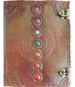 Chakra Leather with Latch