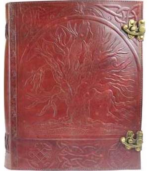 Tree Leather with Latch