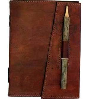 Leather with Pencil