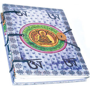 "5"" x 7"" Buddha parchment (hc)"