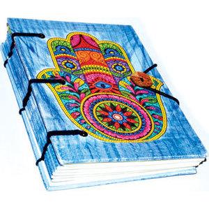 "5"" x 7"" Hamsa Hand parchment (hc)"