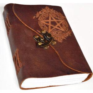 Pentagram leather w/ latch
