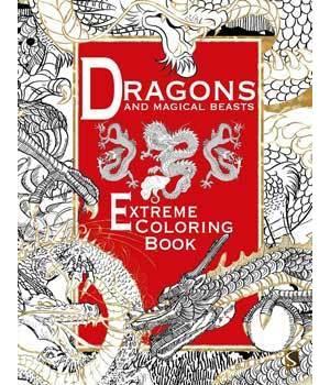 Dragons & Magical Beasts Coloring Book