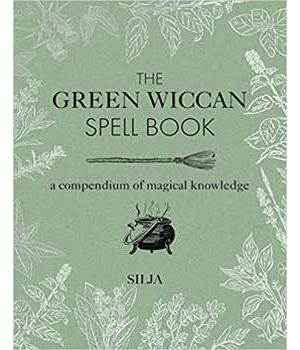 Green Wiccan Spellbook (hc) by Silja
