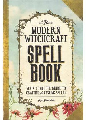 Modern Witchcraft Spell Book (hc) by Skye Alexander