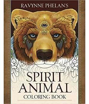 Spirit Animal coloring book by Ravynne Phelan's