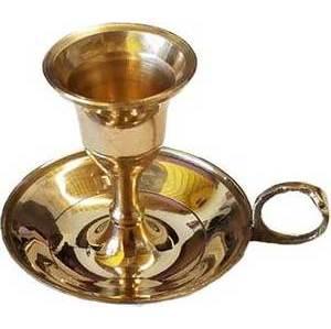 Brass ChamberstickTaper candle holder
