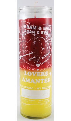Adam & Eve 7 Day Jar Candle