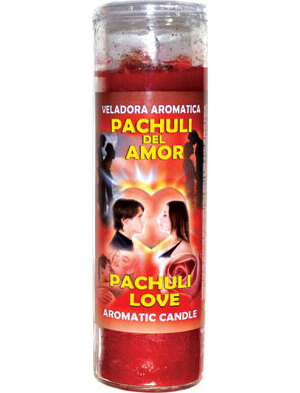 Pachuli Love (Amor) aromatic jar candle