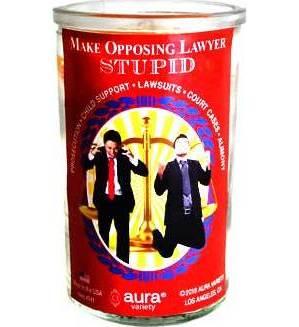 Make Opposing Lawyer Stupid orange purple