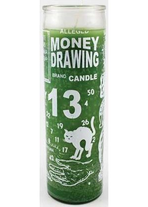 Money Drawing 7 Day Jar Candle