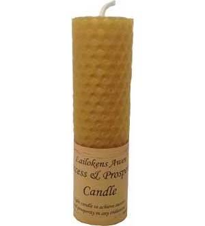 """Success & Prosperity 4 1/4"""" Pillar Candle"""