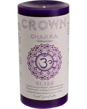 Crown Plexus Chakra Pillar Candle