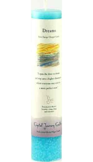 Dreams Reiki Pillar Candle