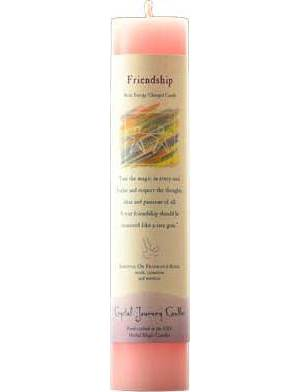 Friendship Reiki Pillar Candle
