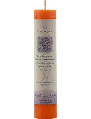 Joy Reiki Pillar Candle