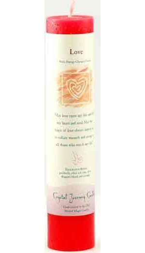 Love Reiki Pillar Candle