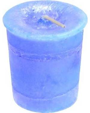 Throat Chakra Votive Candle