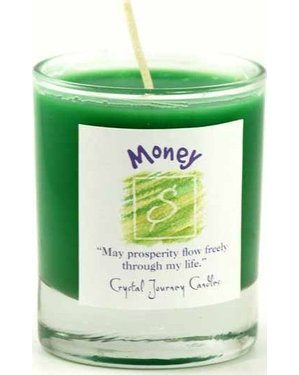 Money Soy Votive Candle