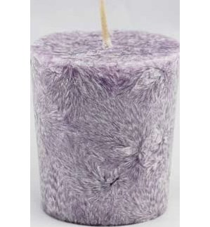 Lavender Palm Votive Candle
