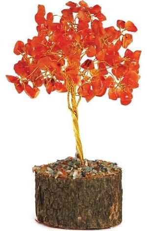 Carnelian Gemstone Tree
