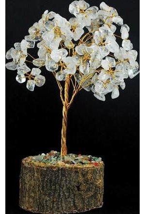 Quartz Gemstone Tree 160 Beads