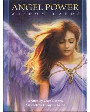 Angel Power Wisdom cards by Guthrie & Satou