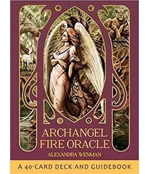 Archangel Fire oracle by Alexandra Wenman